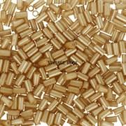 Стеклярус TOHO Bugle3 №123D, 3мм, Бежевый перламутровый, 5г