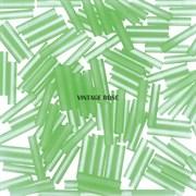 Стеклярус TOHO Bugle4 №144F, 9мм, Светло-зеленый матовый, 5г
