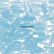 Стеклярус TOHO Bugle4 №143F, 9мм, Светло-голубой матовый, 5г