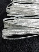 Сутаж металлизированный диаметр 1,9 мм Серебро (Серебро)