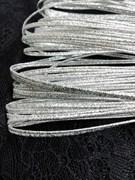 Сутаж металлизированный диаметр 1,9 мм Серебро