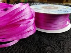 Лента атласная 3 мм цвет 131 темно розовый