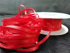 Лента атласная 3 мм цвет 104 красная
