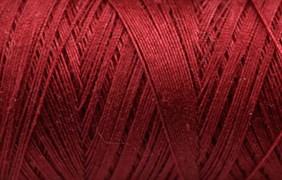 Нитки Cotton № 50/3, Aurora вощеные 200 метров Цвет 20874 БОРДО