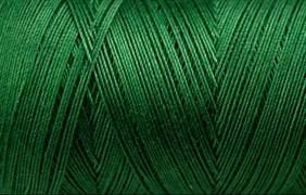 Нитки Cotton № 50/3, Aurora вощеные 200 метров Цвет 21230 ИЗУМРУД