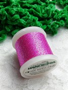 Нитки Madeira Metallic с люрексом розовый 100 метров
