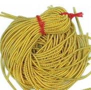 Витая канитель,2 мм, Золото, 50 см