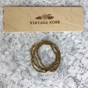 Граненые бусины, Золото металлик, 2,5 мм, Чехия