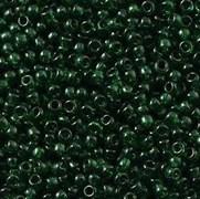 Бисер TOHO круглый 11 #0939 Прозрачный зеленый изумруд