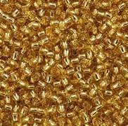 Бисер TOHO круглый 11 #0022B Внутреннее серебрение, топаз