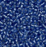 Бисер TOHO круглый 11 #0033 Внутреннее серебрение, синий
