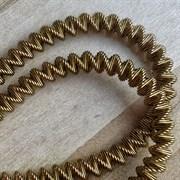 Канительный шнур, 4 мм, Бронза