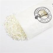 Пайетки 3мм плоские Белые АВ #0119/3мм Италия,  прозрачные АВ