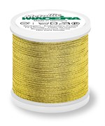 Нитки Madeira Metallic №12, 40м,  Gold