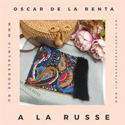 Онлайн мастер -класс A la Russe от Oscar de la Renta ( с материалами)