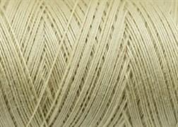 Нитки Cotton № 50/3, Aurora вощеные 200 метров Цвет 20867 Светлый БЕЖ.