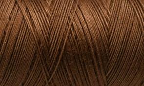 Нитки Cotton № 50/3, Aurora вощеные 200 метров Цвет 20947 ШОКОЛАД