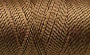 Нитки Cotton № 50/3, Aurora вощеные 200 метров Цвет 20990 МОЛОЧНЫЙ ШОКОЛАД