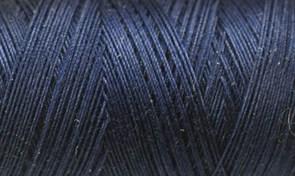 Нитки Cotton № 50/3, Aurora вощеные 200 метров Цвет 21000 ТЕМНОЕ НЕБО