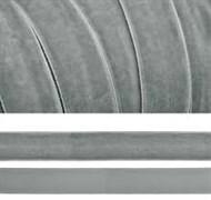 Лента бархатная, цвет № 88-серый.Ширина 20 мм  (1метр)