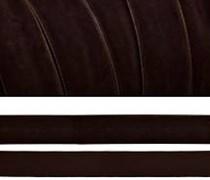 Лента бархатная, цвет № 72-коричневый.Ширина 20 мм  (1метр)