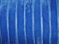 Лента бархатная, цвет № 66-королевский синий.Ширина 10 мм  (1метр)