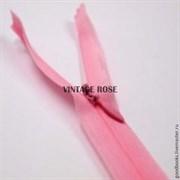 Потайная  розовая молния, 20 см