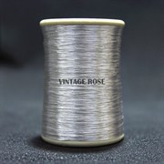 Серебряные нитки, с напылением, 200 м