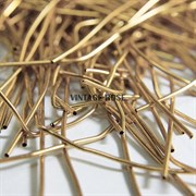 Канитель мягкая, 1 мм, Южное золото