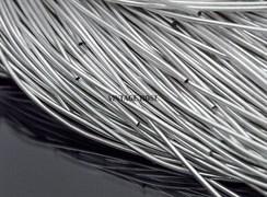 Канитель мягкая, 1 мм, серебро