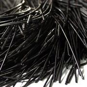 Канитель мягкая, 1 мм, Черная ночь