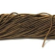 Витая канитель, 1,5 мм, Темное золото
