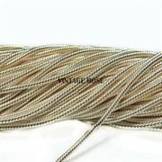 Витая канитель, 1,5 мм, Светлое золото