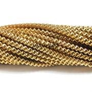 Витая канитель, 2 мм, Римское Золото