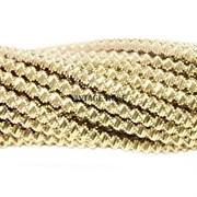 Витая канитель, 2 мм, Светлое Золото