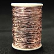 Металлизированная нить Zari , розовое золото