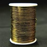 Металлизированная нить Zari , античное золото