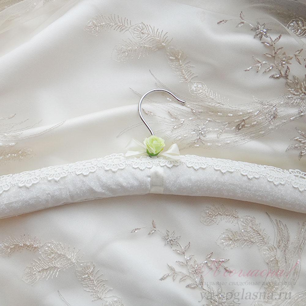 Плечики для свадебного платья своими руками 12